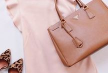 Blush pink and camel style