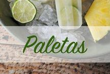 Paletas / Cool off this summer with these delicious paleta recipes! / by The Latin Kitchen