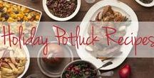 Potluck Recipes / Your holiday parties, both in office and at home, will be perfectly delicious, thanks to these big-batch crowd pleaser recipes
