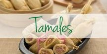 Tamales / These authentic tamale recipes are perfect for weeknight meals or holiday specialities!