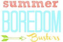 Summer Fun / Summer fun = arts & crafts, keeping cool, having fun and lots of yummy snacks!