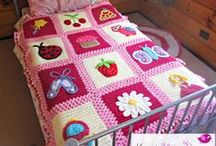 BLANKETS- BABY & CHILDRENS / CROCHET PATTERNS / by Leigh Jackson