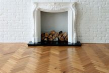 Herringbone/chevron floors