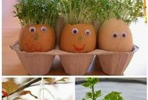 Spring has sprung! / Activity and craft inspiration for the spring!