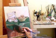 STUDIO / Studio scenes, sharing work in progress