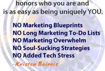 My Marketing Stuff / Articles, information, websites, announcements etc... pertaining to what's up in my business.