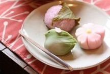 "Wonderful Wagashi / From Wikipedia: ""Wagashi (和菓子) is a traditional Japanese confectionery which is often served with tea, especially the types made of mochi, azuki bean paste, and fruits."" Besides wagashi, some other Japanese sweets may make random appearances here."