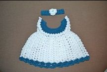 BABY & CHILDRENS- GIRL CLOTHES / CROCHET PATTERNS / by Leigh Jackson