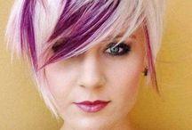 Coiffure / J'aime particulièrement les cheveux courts et la coupe Bob! J'aime bien aussi les cheveux colorés! / by Lukas-Guy 💋💋💋