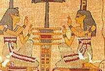 """Eager Egyptologist / """"Egyptology is the study of ancient Egyptian history, language, literature, religion, architecture and art from the 5th millennium BC until the end of its native religious practices in the 4th century AD."""" (description source: Wikipedia)"""