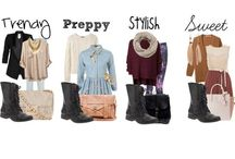 OOTD IDEAS / Ideas on what to wear for every season.