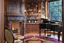 **Libraries and amazing rooms**