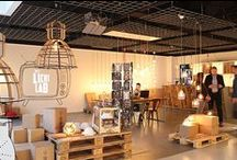 Het Lichtlab @ Tradeshows / We presenteerden onze lampen tijdens De Woonindustrie vakbeurs. Inclusief een aantal nieuwe designs en toffe producten. Alles natuurlijk weer ontworpen en geproduceerd in Nederland. De info over de nieuwe lampen volgt, maar met jullie delen we vast een sneak preview. Check de foto's!