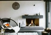 Cheminées /fireplace / inspirations cheminées