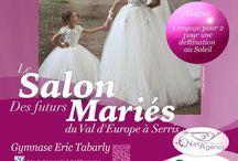 Salon du mariage du Val d Europe les 19 @ 20 septembre 2015 organisé par Natagency et la mairie de Serris. 50 exposants, 2 défilés par jour et un voyage au soleil a gagner !!!! / Salon du mariage