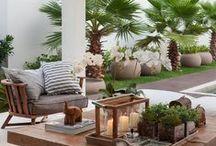 Balcony/terrace, balcon/terrasses / inspiration pour aménager un balcon ou une terrasse