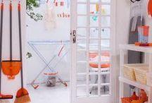 Lavanderia / Inspiração para decoração da lavanderia e móveis úteis