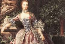 Rococo / Rococo things mixed with some baroque. Buildings, interior, paintings, fashion...