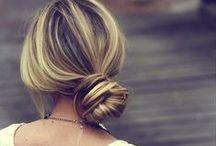 HAIR / Cute and easy hairstyles for medium long hair
