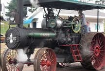 Antique Tractors - Steam / by Jonathan Wiens