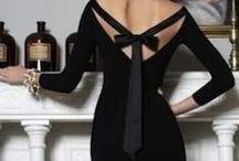 LITTLE BLACK DRESS / The infamous little black dress.