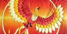 Amazing Animal Quilts / Absolutely wonderful animal quilts for inspiration and admiration! I also have specific boards for the most popular animal species - look for my boards for cat, dog and horse quilts.