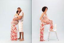 Maman, papa et bébé / Parentalité, grossesse, enfant, bébé.
