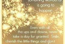 Inspirational words / Inspirational words