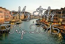 My Italy Trip 2015 / I will be posting pics of my outings daily on this board!  / by Katie C