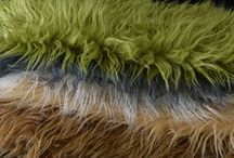 Fluffies and Furries / Beautiful and soft furs in muted colors for neutral images and vibrant colors  add some splash of color.