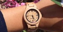 Woodstone wooden watches female designs . / Get close to nature