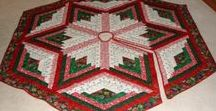 Christmas Quilts and Textiles / Ideas for amazing Christmas projects (quilts and other textile techniques).