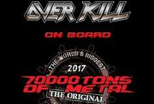 2017 Line Up / What bands joined us on board for Round 7 of 70000TONS OF METAL™:  The Original, The World's Biggest Heavy #MetalCruise...?  Check out the full roster below!