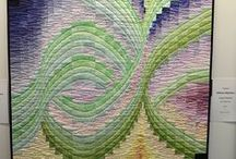 Bargello Quilts / A collection of my favourite examples of the bargello quilt technique.