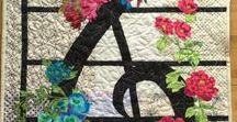 Music Quilts / Quilts that feature music motifs.