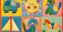 Baby & Kids' Quilt Ideas / Quilts for babies, toddlers and young children. Appliqué or pieced, but always bold, beautiful, funny or happy!