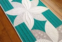 Table Runners, Placemats, Mug Rugs / Quilted Table Runners. Patchwork Table Runners. Placemats, Mug rugs, Coasters, Quilted Table Linen