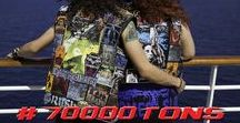 70000TONS™ of Battle Vests / A collection of #battlevests on board 70000TONS OF METAL!