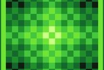 Green Quilt Ideas / Quilts, quilt ideas and color palettes that are predominantly green. Includes fresh green and white color schemes. Some quilts may include minor highlights in other colours, most commonly blue, but the greens do all the work in form and contrast. Now it's easy being green!