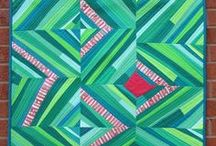 Red and Green Quilts / This board is specifically for quilts that are made in the colours red (pink) and green. This board compliments the Colour Inspiration Tuesday discussion at https://www.cleverchameleon.com.au/pink-chalice/