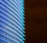 Architectural Media Surface / Dynamic light in architecture
