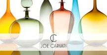 Joe Cariati @ Pomegranate / Joe Cariati is an American artist and glass blower from California who designs and makes a gorgeous collection of decorative bottles and decanters. We are proud to stock his pieces at Pomegranate.https://www.pomegranate-living.com/collections/joe-cariati
