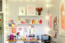 WORK SPACE / ideas para decorar un despacho en casa