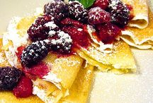 Crepes mmmm! / A Great Way To Start The Day Delicious crepes and pancakes Awesome!