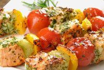Kebabs / Tasty Meals On A Stick