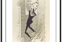 Al Hirschfeld / The master of line. El mejor caricaturista del siglo XX