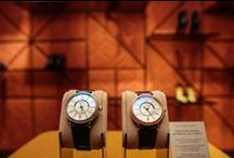 Santoni   IWC Watches / Masters of their respective crafts, the Swiss watchmaking company IWC Schaffhausen and the Italian high-end shoe manufacturer Santoni stand for unique products of the highest quality. Already their partnership has resulted in straps manufactured by hand exclusively for IWC Schaffhausen.