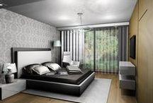 Projekty sypialni / aranżacje sypialni