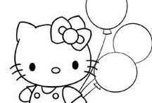 DIGISTAMPS HELLO KITTY