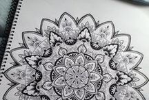 ♥ Zentangle ♥ Doodles ♥ Mandalas ♥